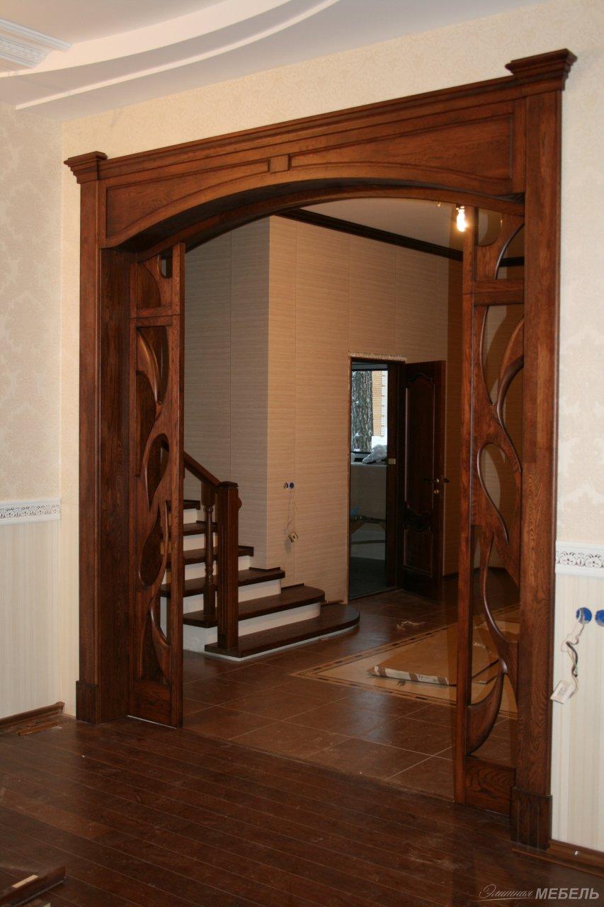 Как сделать арку в дверном проеме своими руками 49
